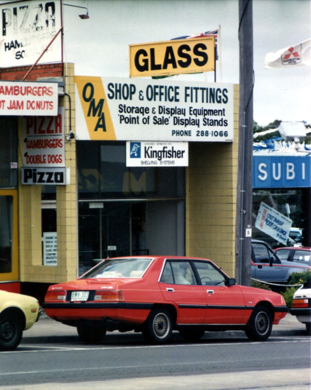 Our first store at 39 Burwood Highway Burwood in December 1987