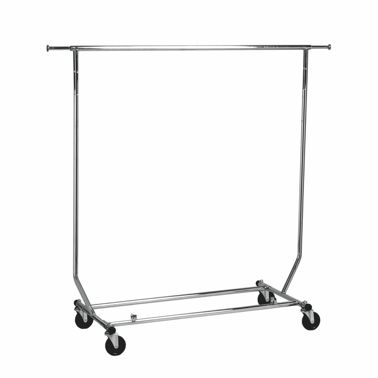 Collapsible Salesman Rack Single Rail